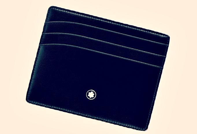 Un cadeau distingué pour homme, le porte-cartes de luxe