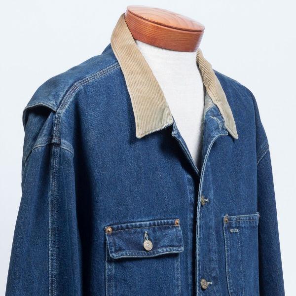 veste bleu